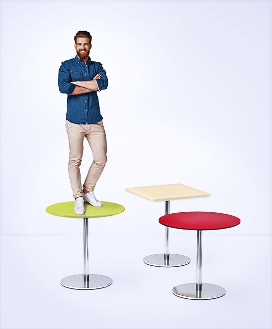 Tischplatten von Topalit